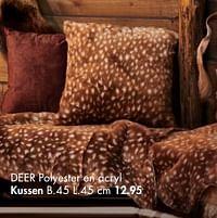 Deer kussen-Huismerk - Casa
