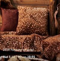 Deer mat-Huismerk - Casa