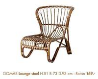 Gomar lounge stoel-Huismerk - Casa