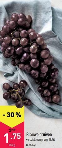 Blauwe druiven-Huismerk - Aldi