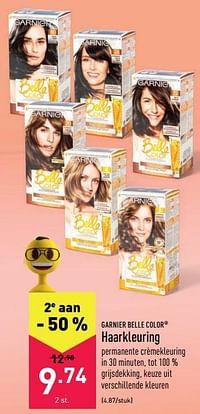Haarkleuring-Garnier