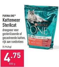 Kattenvoer sterilcat-Purina