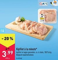 Kipfilet à la minute-Huismerk - Aldi