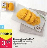 Kippenlapje cordon bleu-Huismerk - Aldi