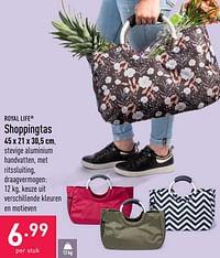 Shoppingtas-Royal Life