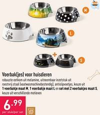 Voerbakjes voor huisdieren-Huismerk - Aldi