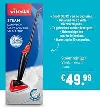 Stoomreiniger vileda - steam-Vileda