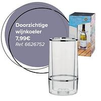 Doorzichtige wijnkoeler-Huismerk - Carrefour