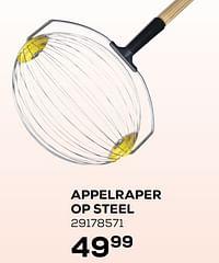 Appelraper op steel-De Pypere