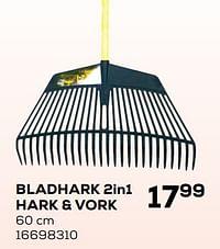 Bladhark 2in1 hark + vork-De Pypere