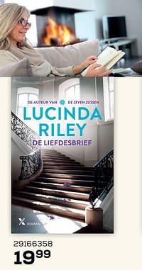 Lucinda riley de liefdesbrief-Huismerk - Supra Bazar