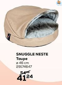 Snuggle neste taupe-Jack and Vanilla