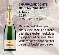Champagne comte de senneval aop-Champagne
