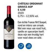 Château ordonnat graves aop-Rode wijnen