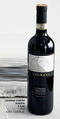 Laurana conera riserva-Rode wijnen