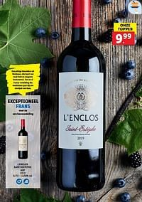 L`enclos saint-estèphe aop-Rode wijnen
