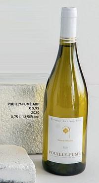 Pouilly-fumé aop-Witte wijnen