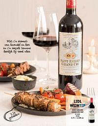 Saint-emilion grand cru aop-Rode wijnen