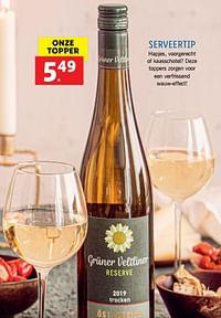 Serveertip-Witte wijnen