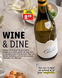 Wine + dine-Witte wijnen
