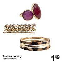 Armband of ring-Huismerk - Zeeman