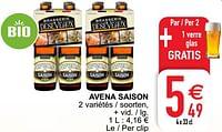 Avena saison-Huismerk - Cora