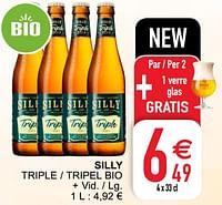 Silly triple - tripel bio-Silly