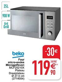 Beko four micro-ondes microgolfoven mcf25210x-Beko