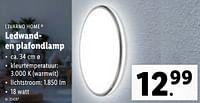 Ledwanden plafondlamp-Livarno