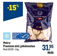 Metro premium sint-jakobsnoten-Huismerk - Makro