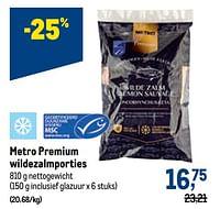Metro premium wildezalmporties-Huismerk - Makro