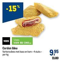 Cordon bleu-Huismerk - Makro