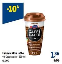 Emmi caffè latte cappuccino-Emmi