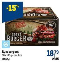 Rundburgers-Huismerk - Makro