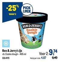 Ben + jerry`s ijs cookie dough-Ben&Jerry