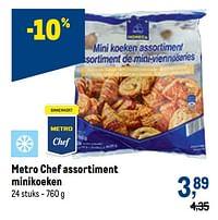 Metro chef assortiment minikoeken-Huismerk - Makro