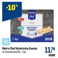 Metro chef aziatische snacks scampi butterfly-Huismerk - Makro
