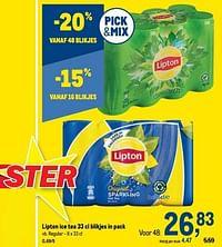 Lipton ice tea regular-Lipton