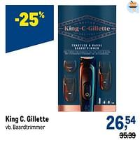 King c. gillette baardtrimmer-Gillette