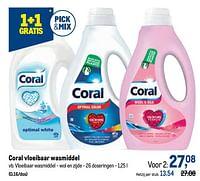 Coral vloeibaar wasmiddel vloeibaar wasmiddel - wol en zijde-Coral