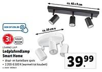 Ledplafondlamp smart home-Livarno Lux