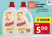 Wasmiddel marseille-Formil