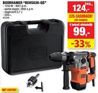 Black + decker boorhamer behs03k-qs-Black & Decker