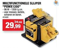 Powerplus multifunctionele slijper powx1350-Powerplus