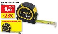 Rolbandmaat-Stanley
