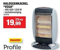 Profile halogeenkachel vega-Profile