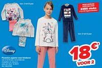 Fluwelen pyjama voor kinderen-Disney