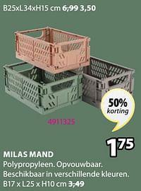 Milas mand-Huismerk - Jysk