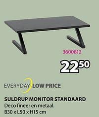 Suldrup monitor standaard-Huismerk - Jysk