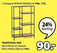 Trappedal rek-Huismerk - Jysk